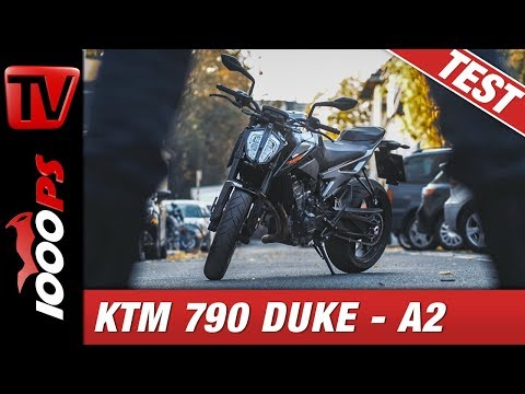 KTM 790 Duke L Test  - 48PS A2 - Ungezügelter Wilder Westen!