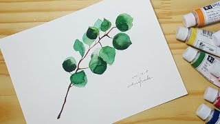 Watercolor painting/수채화 일러스트/ …