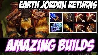 EARTH JORDAN RETURNS ! - Amazing Builds vol 10 - Dota 2