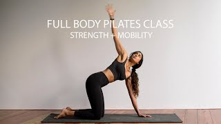 Full Body Pilates Class | 15 Minutes | Strength and Mobility Exercises Combined