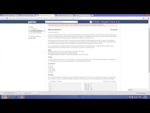 Facebook Hacker Cup 2014 Round 2