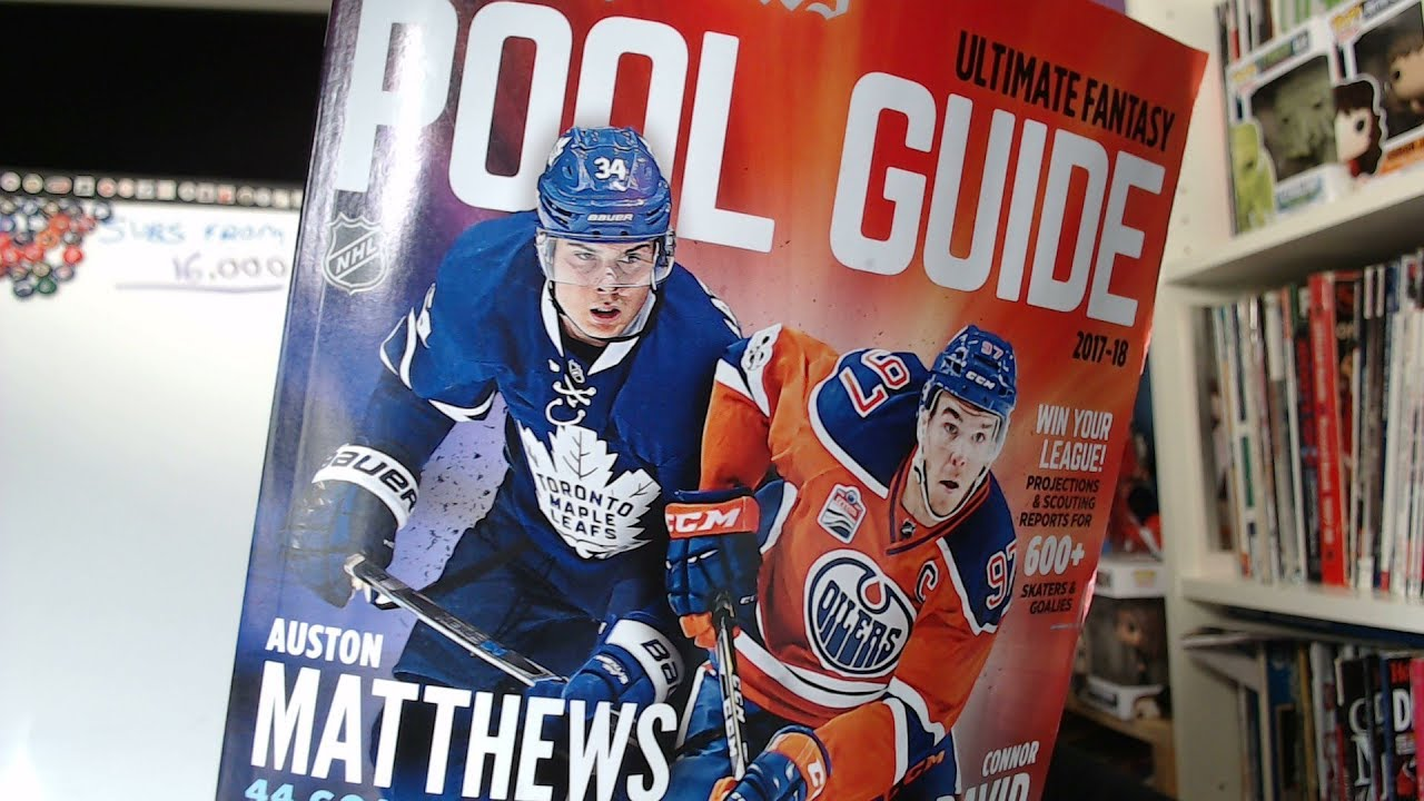 49009f1f185 Got The Hockey News Pool Guide Today - YouTube