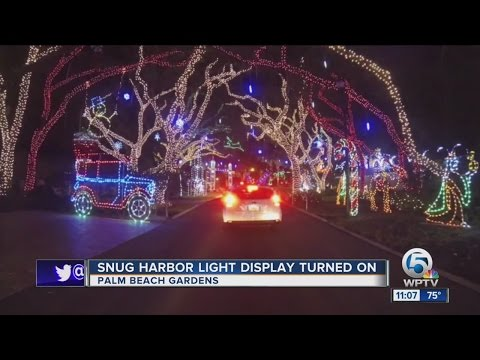 Palm Beach Gardens neighborhood moves past Christmas lights traffic woes