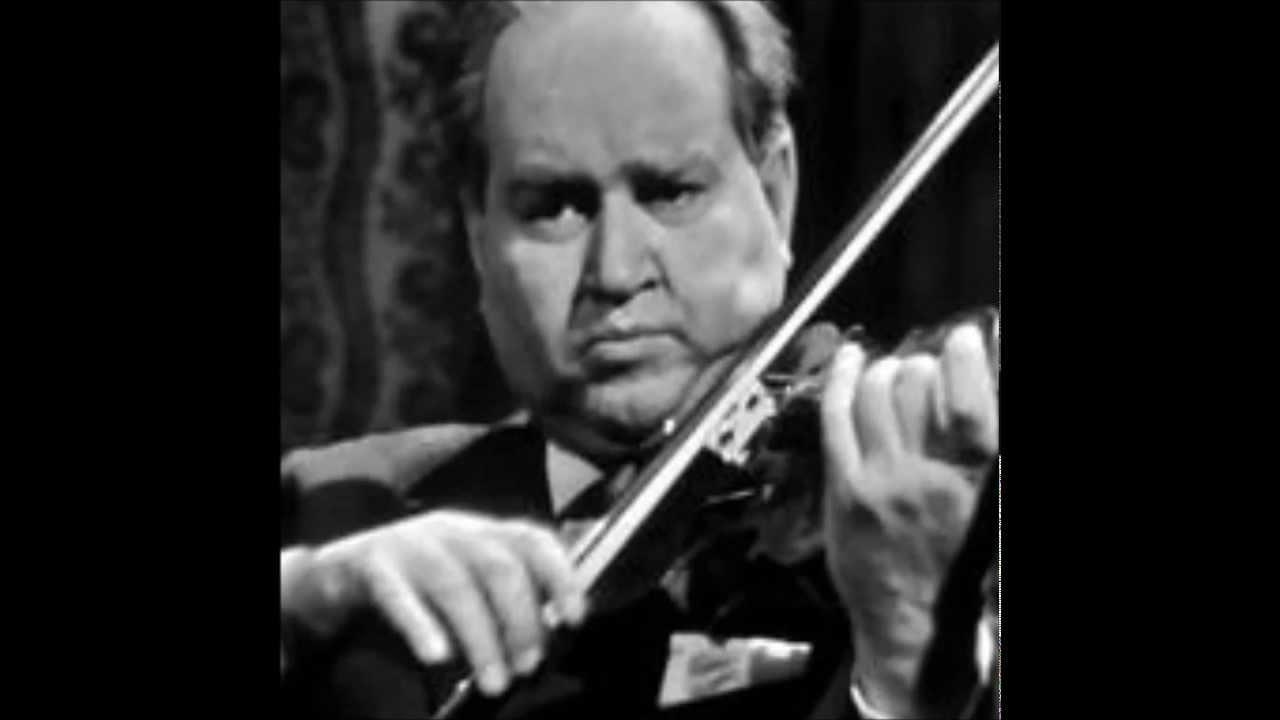 David Oistrakh Paganini Campanella live in Moscow 1954