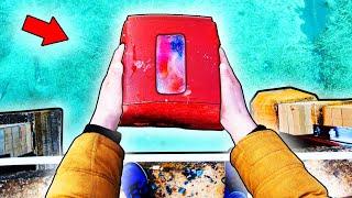 Что если iPhone X СБРОСИТЬ в ЖЕЛЕ с 10 го ЭТАЖА.?!