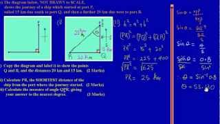 csec cxc maths past paper 2 question 3b may 2012 exam solutions answers by will edutech