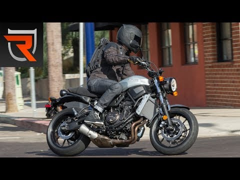 2018 Yamaha XSR700 First Test Review Video | Riders Domain