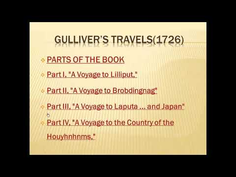 """Gulliver's travels"" by Jonathan Swift"