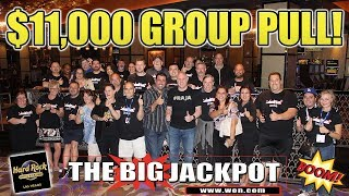 $11,000 GROUP PULL 🔸 2nd Night with the 💣 BOMB SQUAD💣  in VEGAS 💸