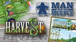 Harvest (TMG) Review by Man Vs Meeple