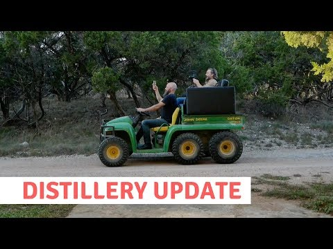 Whiskey Distillery Update: Kind of a Big Deal