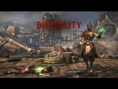 Mortal Kombat X: Ermac - Nether Force Brutality