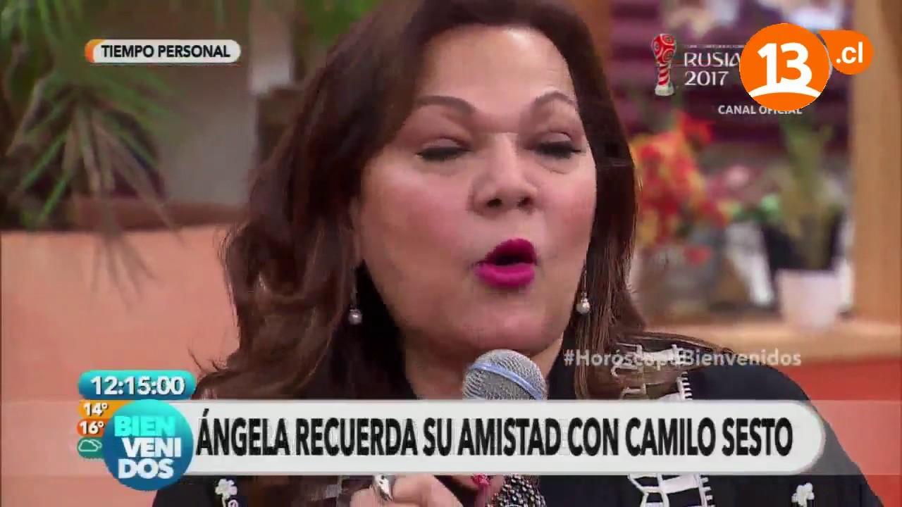 ángela Carrasco Visita Chile Bienvenidos Youtube