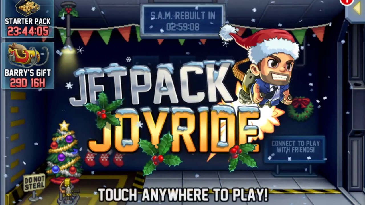 Jetpack Joyride: Christmas Update! {1} - YouTube