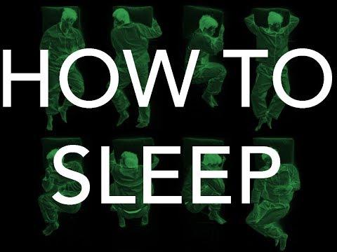 HOW TO SLEEP (Correct Position)