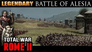 Total War: Rome II - Siege of Alesia (History and Legendary Difficulty)