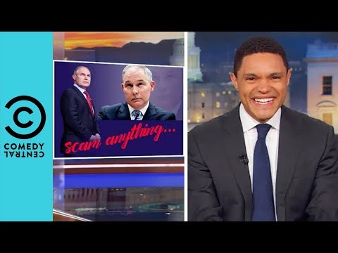 How Cheap Is Scott Pruitt? | The Daily Show With Trevor Noah