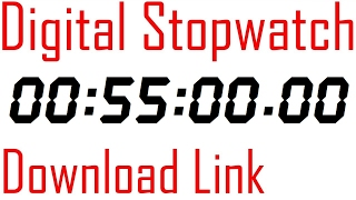 057 stopwatch digital timer 55 minutes counter with download link