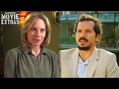 The Infiltrator   On-set with Amy Ryan 'Bonni Tischler' & John Leguizamo 'Emir Abreu' [Interview]