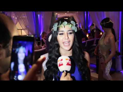 Miss Lebanon @ Miss Intercontinental in Egypt - Interview with Miss Lebanon