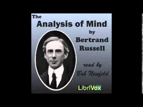 THE ANALYSIS OF MIND - Full AudioBook - Bertrand Russell