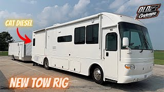 We bought The cheapest RV we could find, and took it dirt track racing to the Prairie Dirt Classic