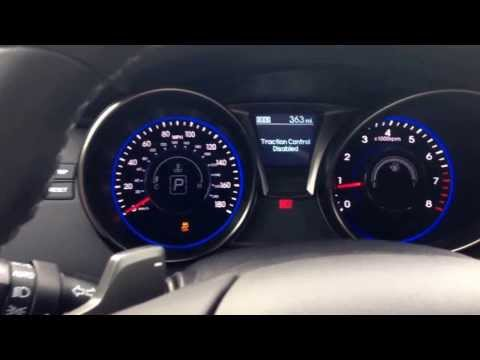 How to turn off traction control 2013 genesis coupe