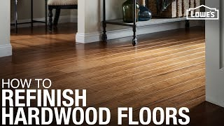 How to Refinish Harḋwood Floors