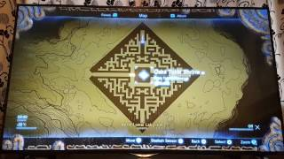 Zelda breath of the Wild - Maze Guide - North Lomei Labyrinth (Not the blight!)