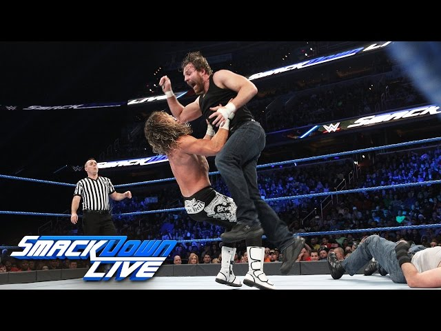 Ambrose vs. Ziggler vs. Miz vs. Harper – Fatal 4-Way: SmackDown LIVE, Dec. 13, 2016