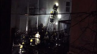 Neighbor captures deadly house fire rescue in Worcester