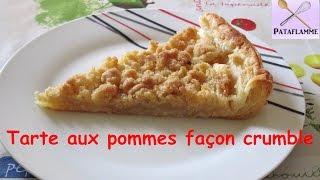 La Tarte Aux Pommes Façon Crumble - Apple Pie With Crumble