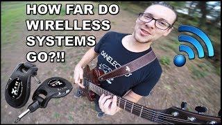 XVive U2 Guitar Wireless System - RANGE TEST & REVIEW