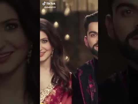 Best of virat and anushka sharma tik tok😂😂😂😂