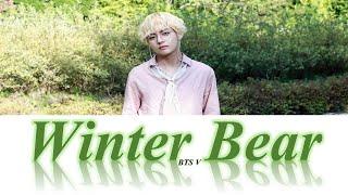 BTS V Winter Bear Karaoke Lyrics  [INSTRUMENTAL]
