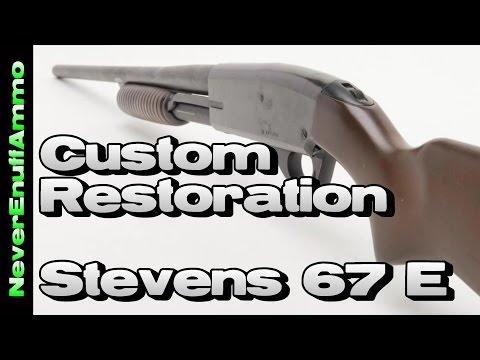 Custom Restoration - Stevens 67 E Shotgun - Home Defense