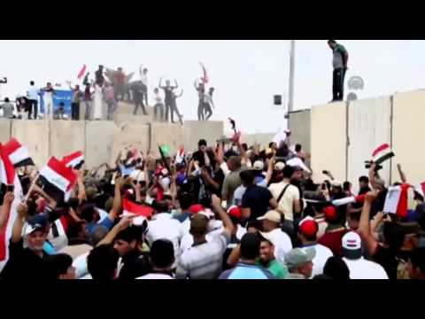 Iraq al-Sadr protesters storm heavy fortified Green Zone in Baghdad