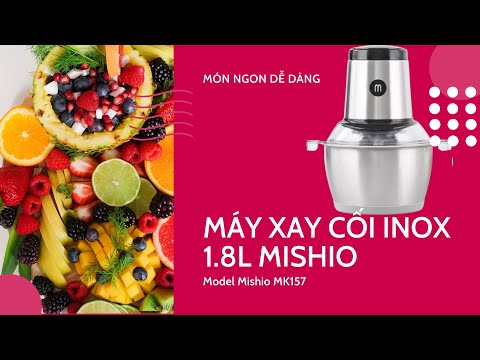 Máy xay thịt 1.8L cối inox MK157