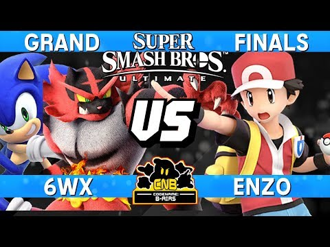 Smash Ultimate Tournament Grand Finals - 6WX (Incineroar / Sonic) v Enzo (Pokemon Trainer) - CNB 176