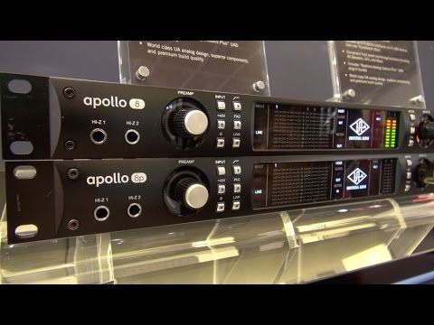 [Musikmesse] Universal Audio Apollo 8 & 8p