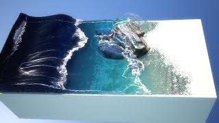 Beach Waves Simulation Realflow 2015 (Ocean Force daemon)
