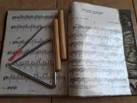 Insegnare musica con la LIM Spartiti per percussioni con MuseScore