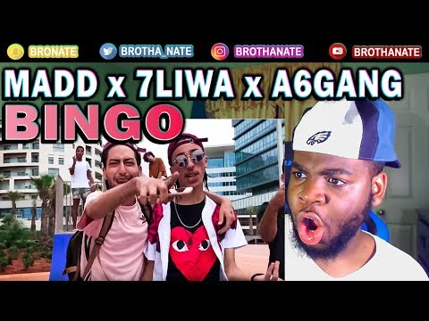 MADD - BINGO ft 7liwa x A6Gang REACTION!!
