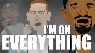 EMINEM - I'm On Everything (NEW Cartoon Music Video)