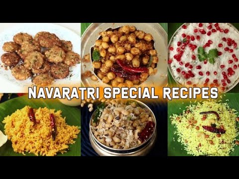 Navaratri Special Recipes   Special Recipes   Festival Special