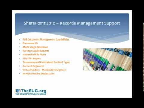 Documents & Record Management in SharePoint 2010