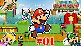 Super Paper Mario #01 - LUIGI IL COMPLOTTISTA