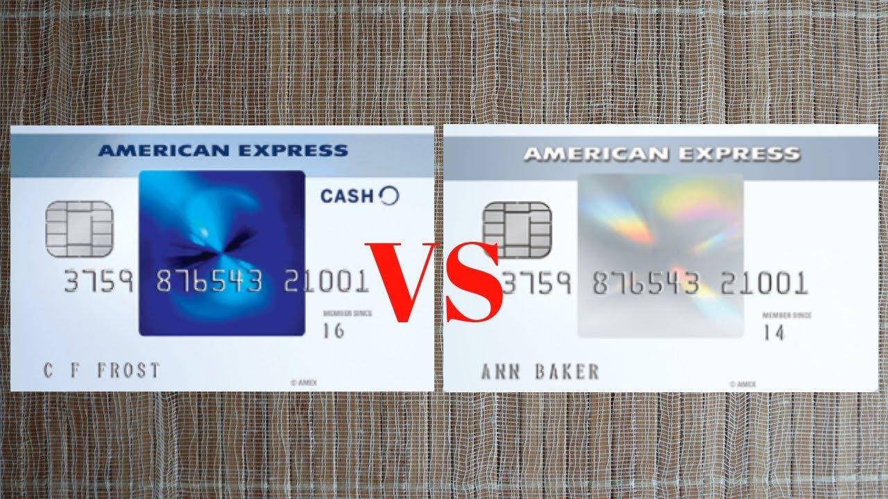 Amex Everyday VS Amex Blue Cash Card