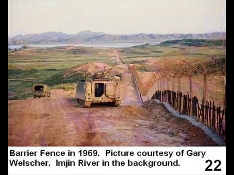 Korean DMZ - Barrier Fence - 1967 to the Present