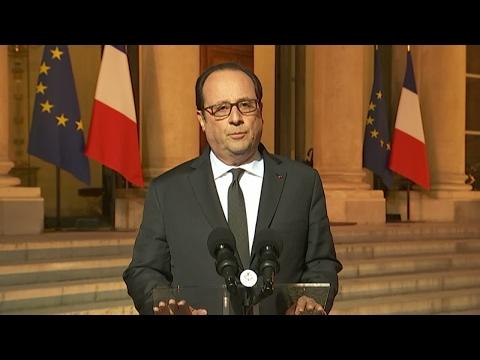 """Fusillade sur les Champs-Élysées : François Hollande évoque la piste """"d'ordre terroriste'"""""""